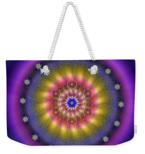 Sacred Geometry 659 Weekender Tote Bag