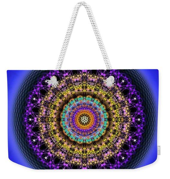Sacred Geometry 708 Weekender Tote Bag