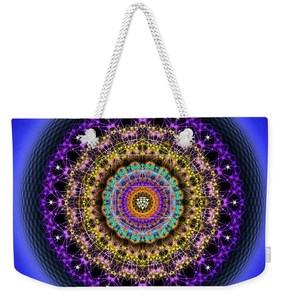 Sacred Geometry 708 Weekender Tote Bag