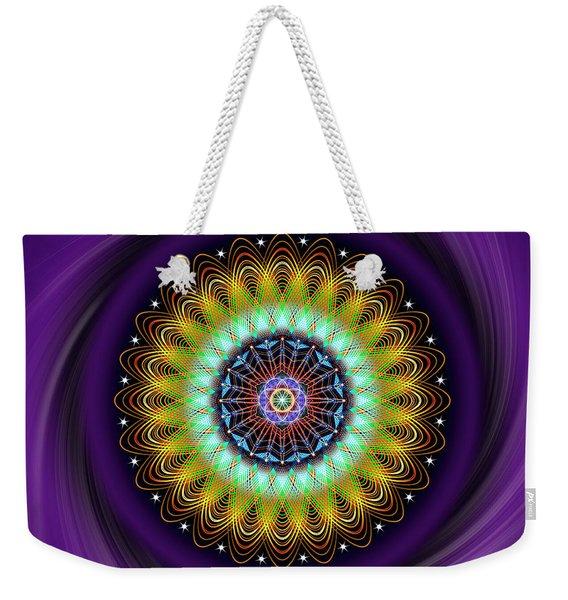Sacred Geometry 710 Weekender Tote Bag