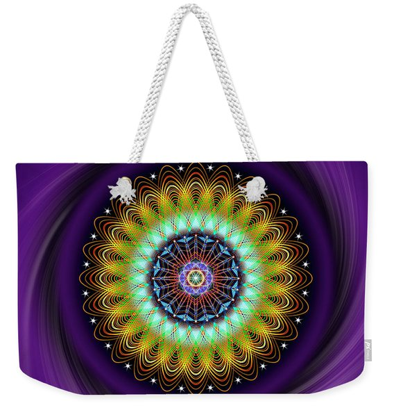 Sacred Geometry 710 Weekender Tote Bag