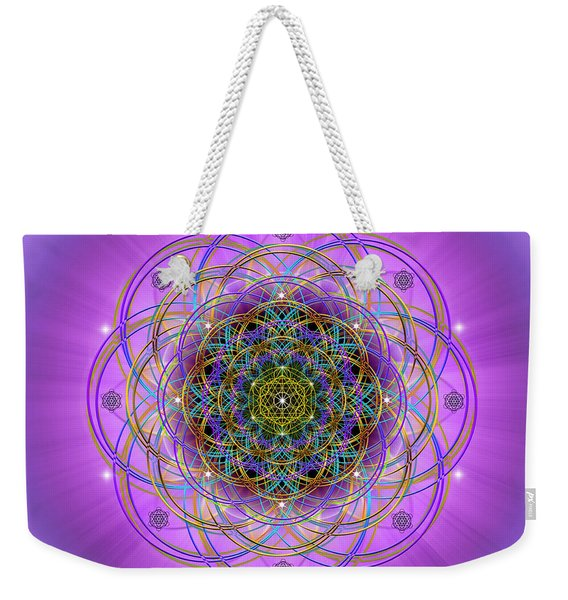 Sacred Geometry 715 Weekender Tote Bag