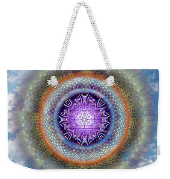 Sacred Geometry 716 Weekender Tote Bag