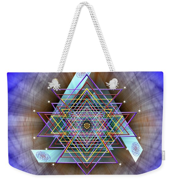 Sacred Geometry 717 Weekender Tote Bag