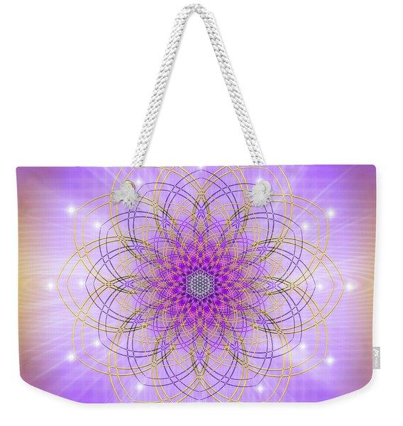 Sacred Geometry 721 Weekender Tote Bag