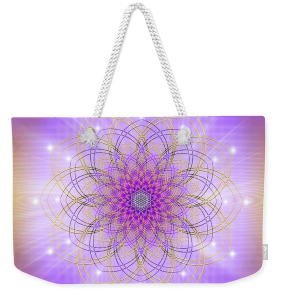 Sacred Geometry 721 Weekender Tote Bag