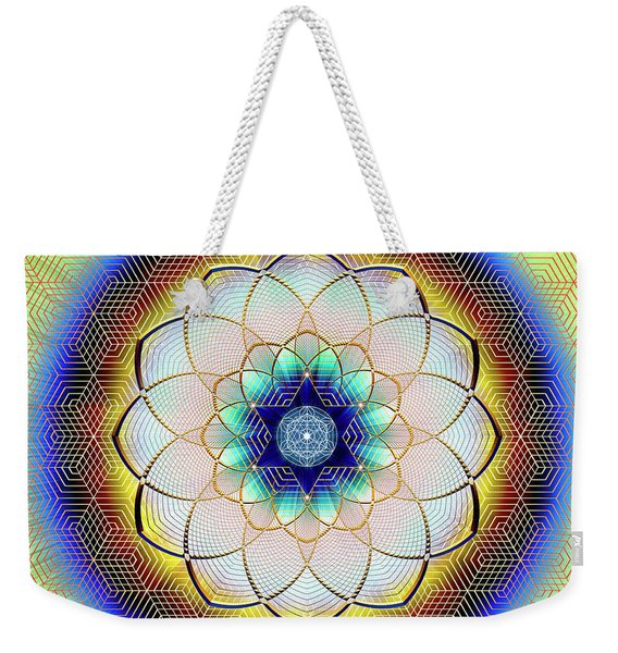 Sacred Geometry 723 Weekender Tote Bag