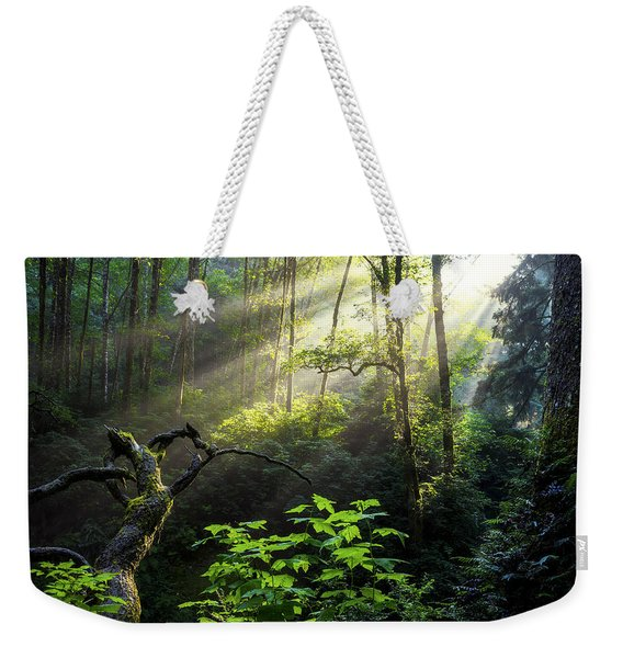 Sacred Light Weekender Tote Bag