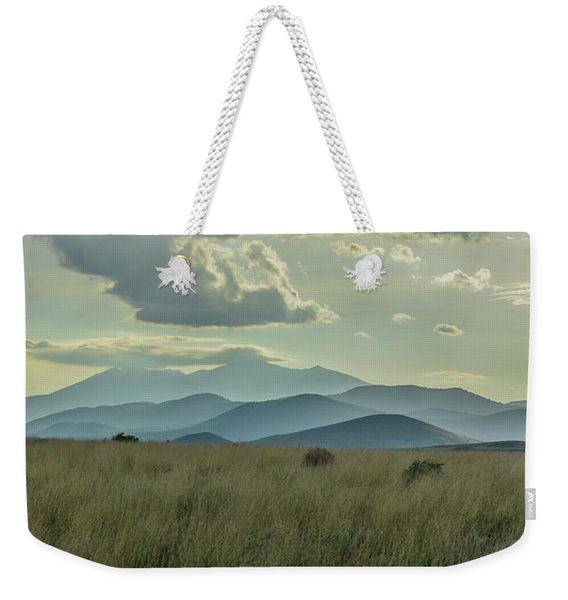 Sacred Mountain Weekender Tote Bag