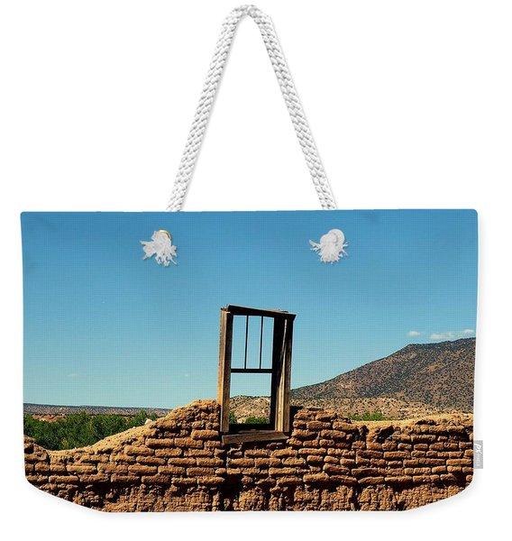 Sacred Window Weekender Tote Bag