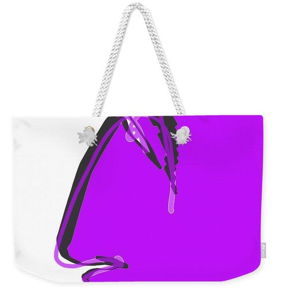 Sad Grape Weekender Tote Bag