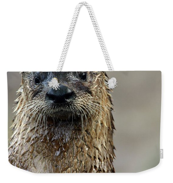 Soaking Wet Weekender Tote Bag
