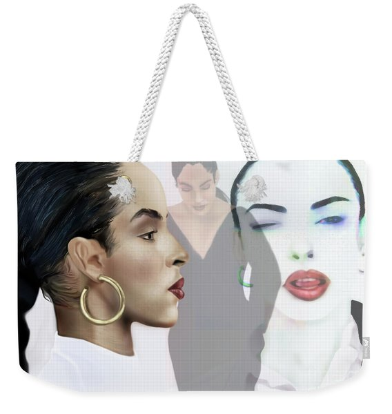 Sade In Layers  Weekender Tote Bag