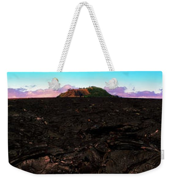 Saddle Road Humuula Lava Field Big Island Hawaii  Weekender Tote Bag