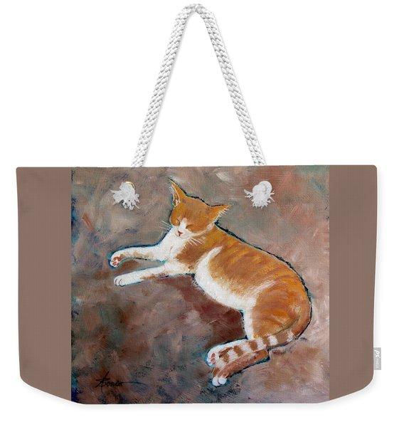 Saddle Tramp- Ranch Kitty Weekender Tote Bag