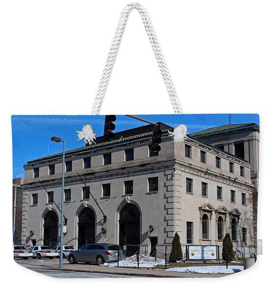 Safety Building Weekender Tote Bag