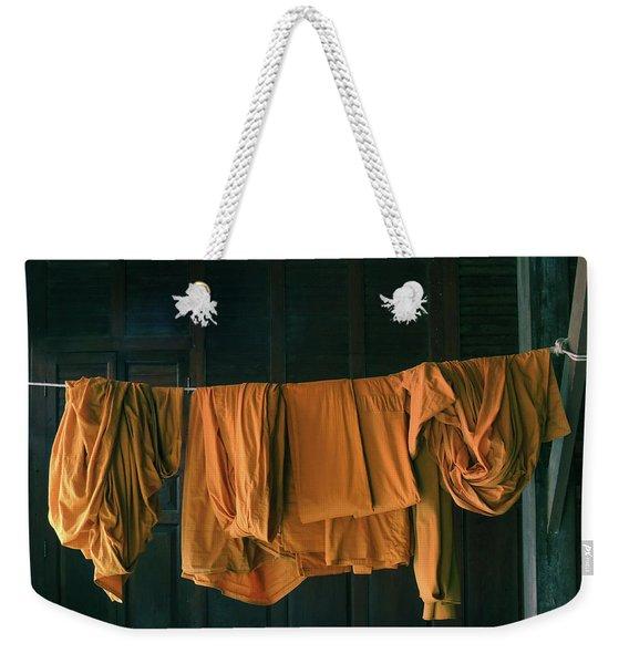 Saffron Robes Weekender Tote Bag