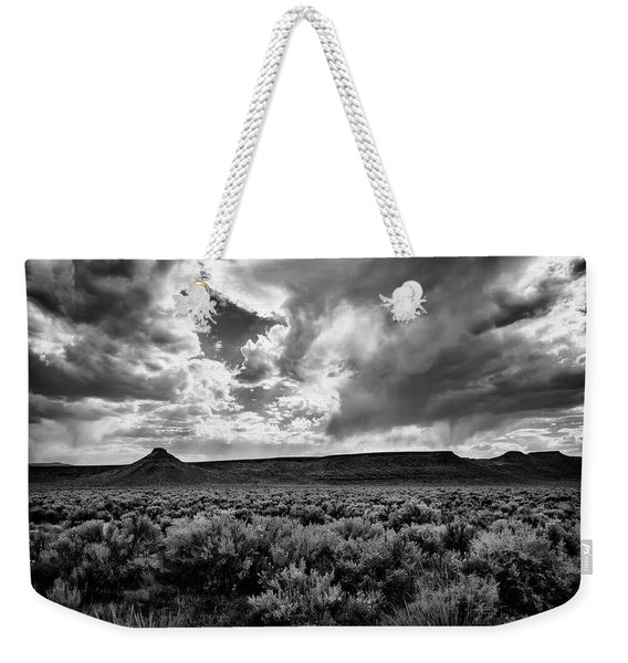 Sage And Clouds Weekender Tote Bag