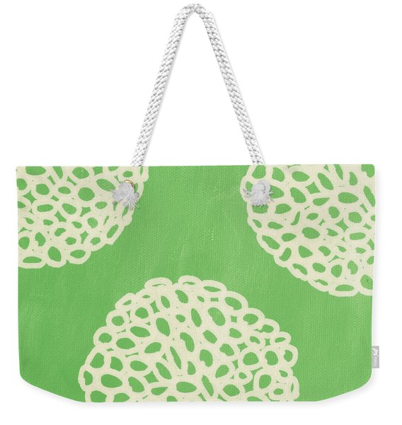 Sage Garden Bloom Weekender Tote Bag