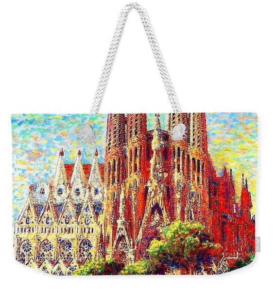 Sagrada Familia Weekender Tote Bag