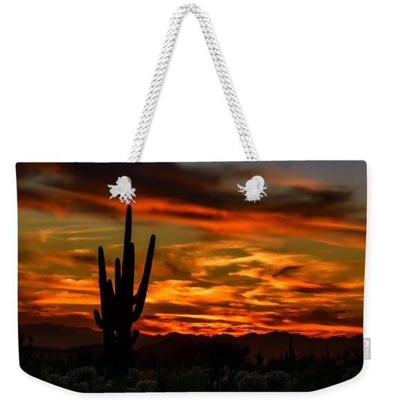 Saguaro Sunset H51 Weekender Tote Bag