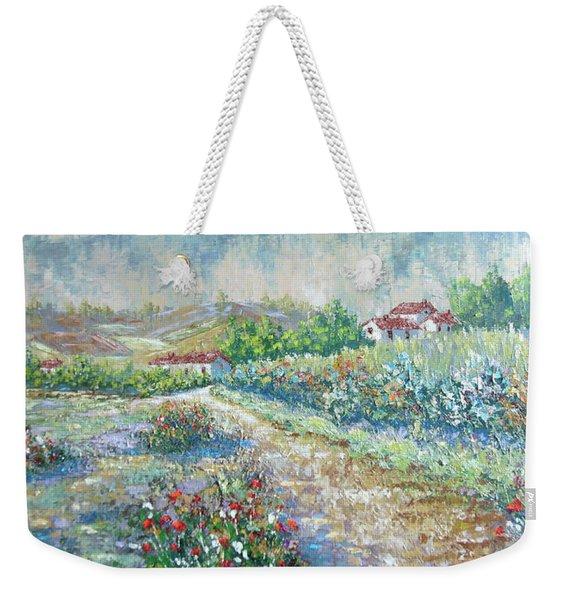 Saignon Weekender Tote Bag