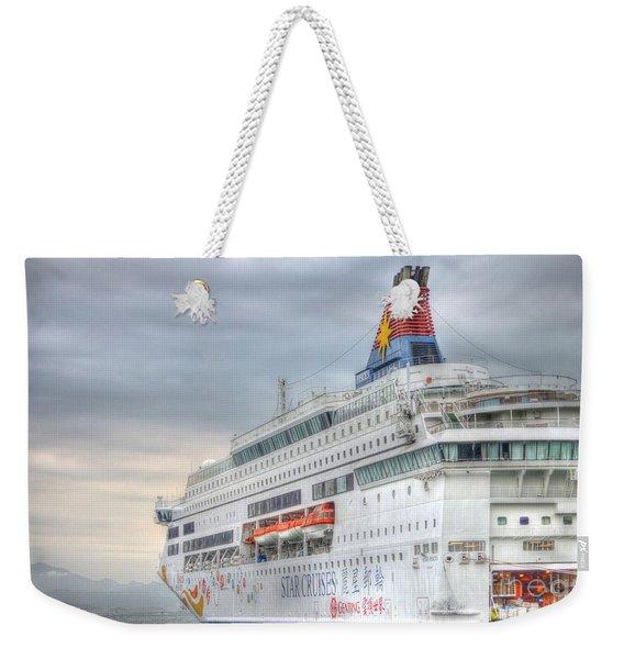 Sail Away Hong Kong Weekender Tote Bag