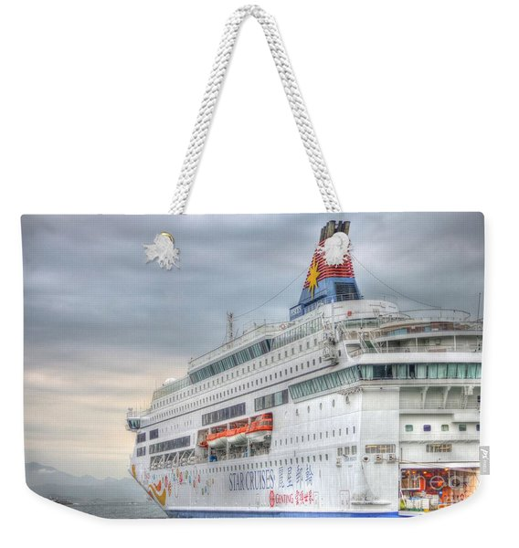 Sail Away Hong Kong Weekender Tote Bag