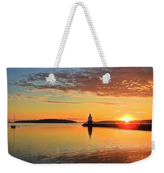 Sail Into The Sunrise Weekender Tote Bag