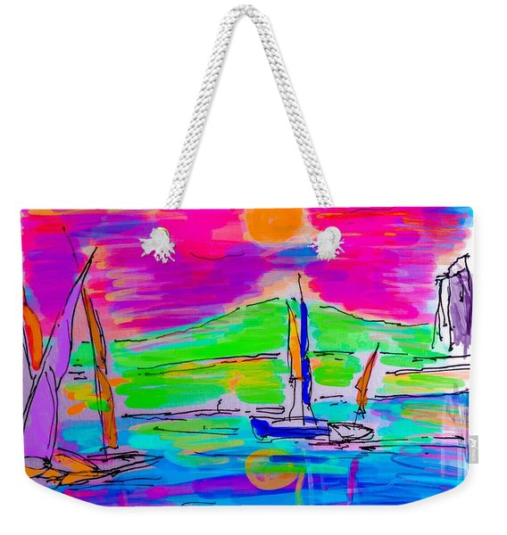 Sail Of The Century Weekender Tote Bag