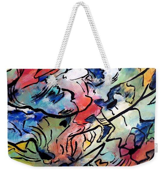 Sail The Sea Weekender Tote Bag