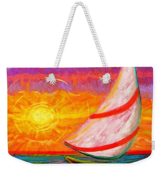 Sailaway Weekender Tote Bag