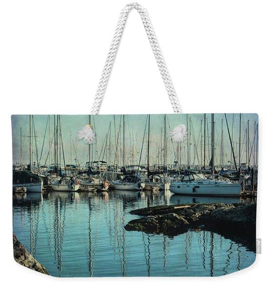 Marina - Digitally Textured Weekender Tote Bag