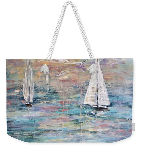 Sailing Away 1 Weekender Tote Bag