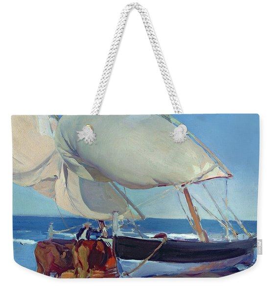 Sailing Boats Weekender Tote Bag