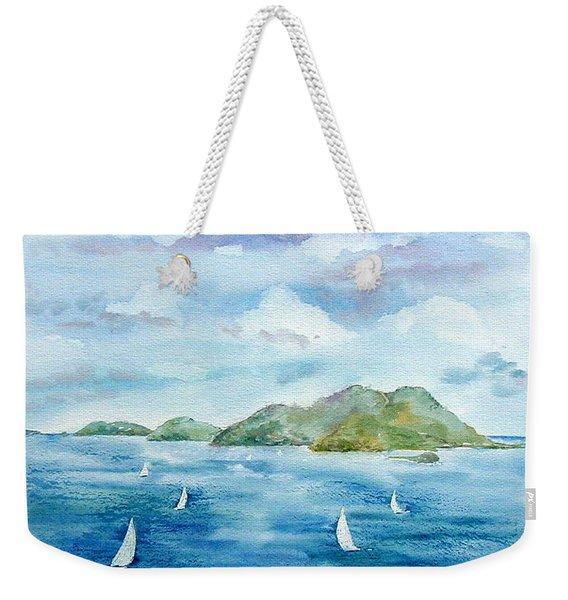 Sailing By Jost Weekender Tote Bag