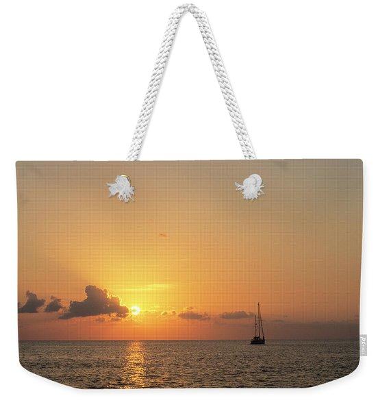 Crusing The Bahamas Weekender Tote Bag