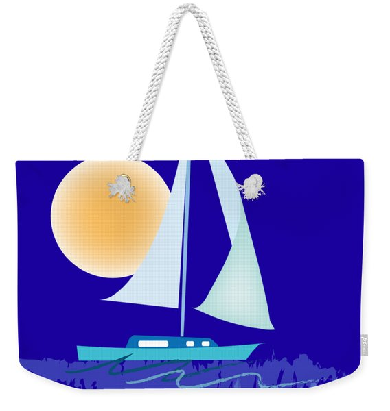 Sailing Day Weekender Tote Bag