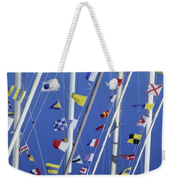 Sailing, General Weekender Tote Bag