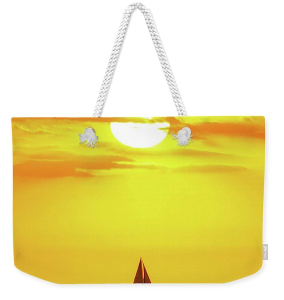Sailing In Hawaiian Sunshine Weekender Tote Bag