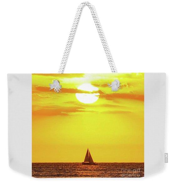 Sailing In Hawaiian Sunshine Weekender Tote Bag