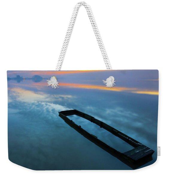 Sailing In The Sky Weekender Tote Bag