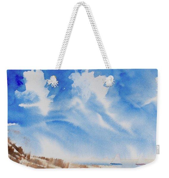 Fine Coastal Cruising Weekender Tote Bag