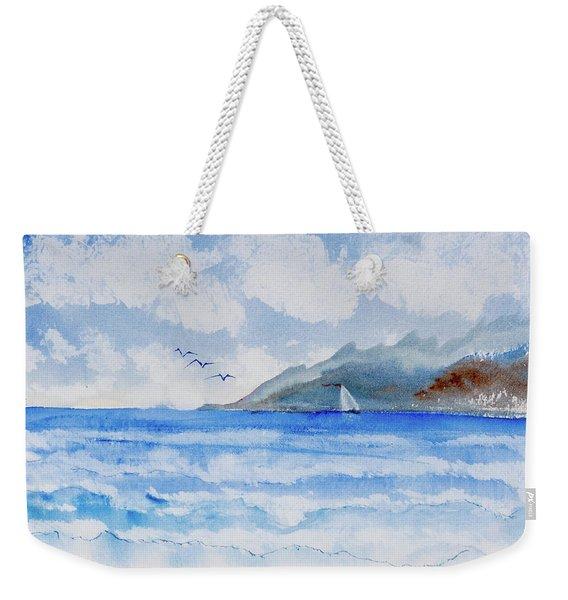 Sailing Into Moorea Weekender Tote Bag