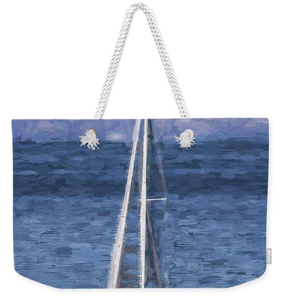 Sailing Lake Tahoe Weekender Tote Bag