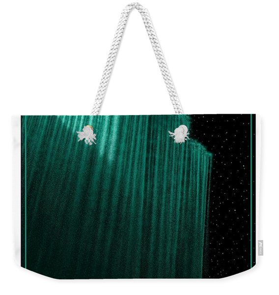Sailing Off The Edge Of The World Weekender Tote Bag