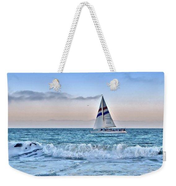 Sailing Santa Cruz Weekender Tote Bag