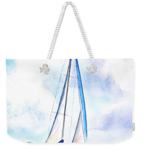 Sailing The Islands 2 Weekender Tote Bag