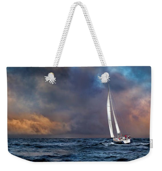Sailing The Wine Dark Sea Weekender Tote Bag