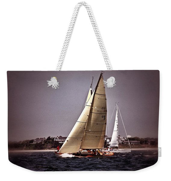 Sailing To Nantucket 005 Weekender Tote Bag